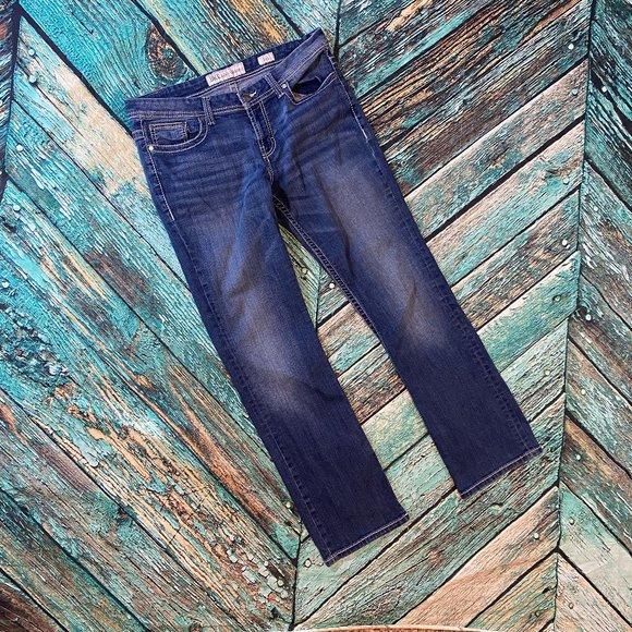 BKE Women's Culture Boot Cut Jeans 34
